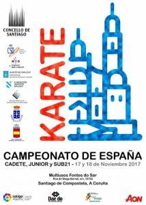 Campeonato España 2017 Kadete-Junior-sub21